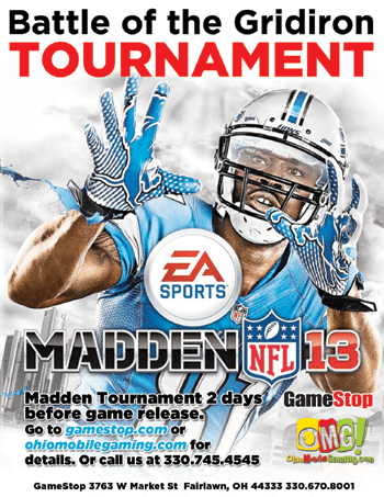 madden tournament akron ohio, video gaming, omg, gamestop fairlawn