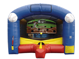 teeball, tee ball, inflatable carnival games