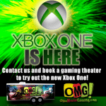 Xbox One in OMG Gametruck