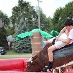 Our mechanical bull in Akron OH