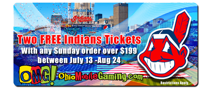OMG Cleveland Indians Ticket Giveaway