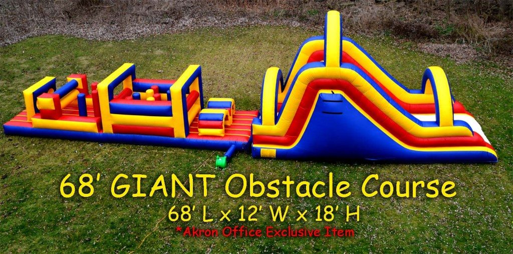 obstacle course rock climbing