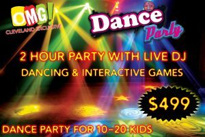 OMG Cleveland DJ Dance Party $499