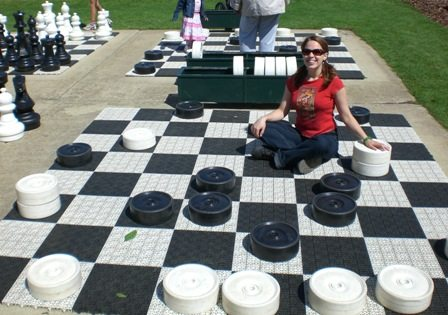 huge checkers game rentals, carnival games, twinsburg ohio