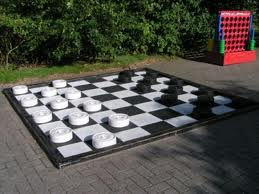 xl checkers, giant checkers, carnival games, game rentals akron oh, medina, canton, wadsworth